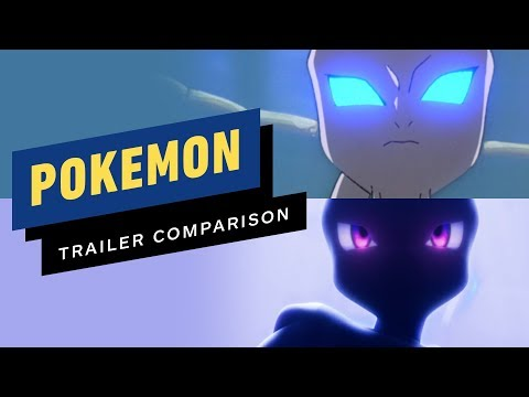 Pokemon The First Movie: Mewtwo Strikes Back 1999 vs 2019 Remake - UCKy1dAqELo0zrOtPkf0eTMw