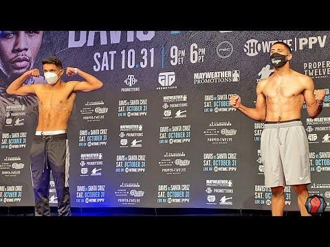 JERRY PEREZ VS. JOSHUA ZUNIGA | FULL WEIGH IN & FACE OFF VIDEO