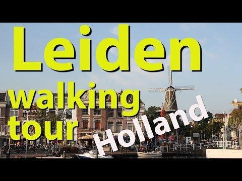 Leiden walking tour, Netherlands - UCvW8JzztV3k3W8tohjSNRlw