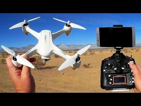 JJPRO X3 Hax GPS FPV 1080p Camera Brushless Drone Flight Test Review
