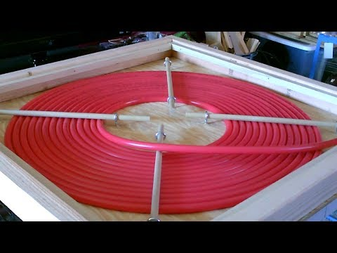 """DIY """"PEX COIL"""" Solar Water Heater! - High temps! - No crimping! - Sunsafe! - PEX Made Easy!"""