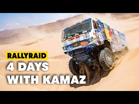 Dakar Trucks: 4 Days w/ The Kamaz Master Team In Kazakhstan - UC0mJA1lqKjB4Qaaa2PNf0zg