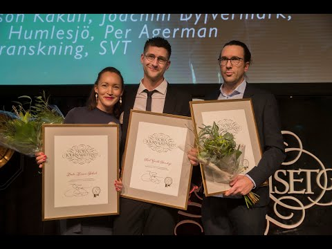 """Uppdrag Gransknings """"Swedbank och penningtvätten"""" är Årets Avslöjande – Stora Journalistpriset 2019"""