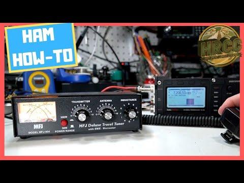 How To Use A Ham Radio Manual Antenna Tuner ????