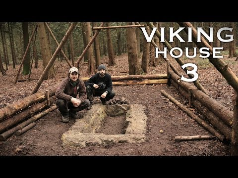Building a Viking House with Hand Tools: Stone Clay Pit | Bushcraft Project (PART 3)