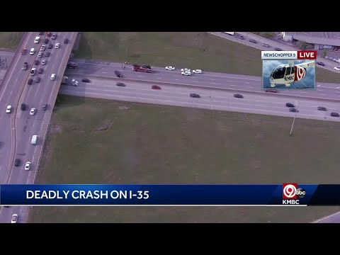 KHP investigates fatal crash on I-35 near 18th Street Expressway