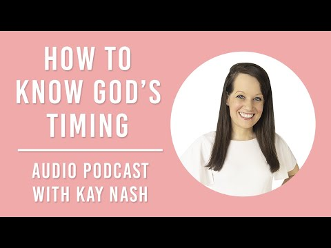 How to Know God's Timing