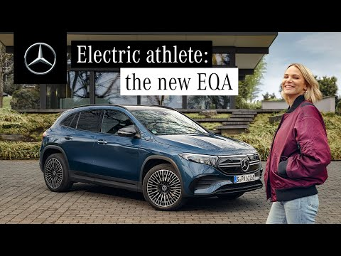 The New EQA | Electric Test-Drive with Leonie von Hase