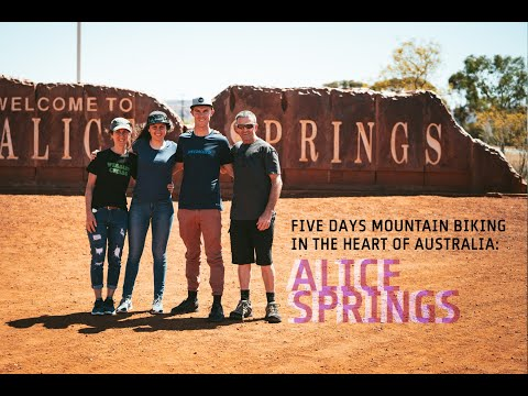 """The Ultimate Mountain Bike Family Holiday"""" The Tucknotts do Alice Springs."""