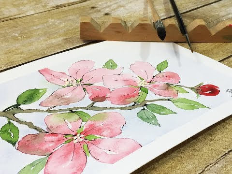 watercolor painting: how to use reference material without copying