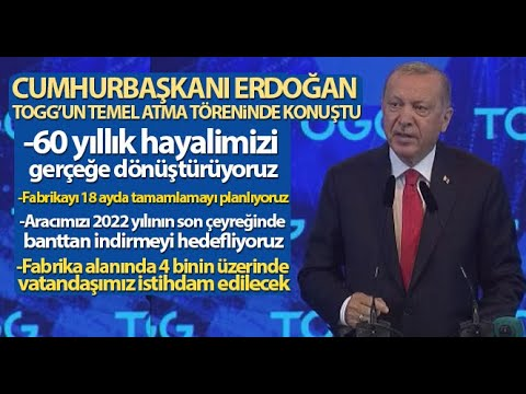 Türkiye İçin Tarihi Gün, TOGG'un Temeli Bursa'da Atıldı