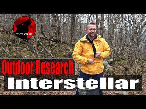 Our Favorite Waterproof Jacket - Outdoor Research Interstellar Review