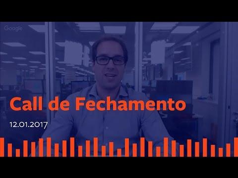 Call de Fechamento - 12 de Janeiro de 2017.