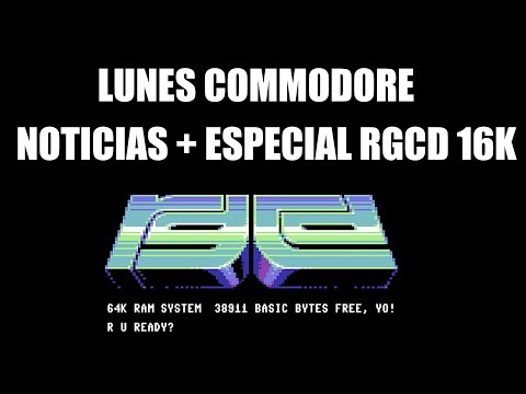 Commodore 64: Noticias RGCD GAMES
