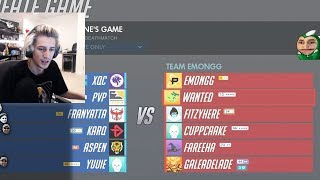 Gaming Warlord xQc Plays in $25,000 Overwatch Workshop Twitch Rivals Tournament