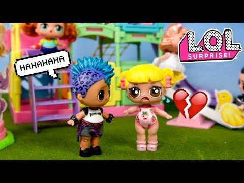 LOL Punk Boi Bullies Baby Goldie - Barbie Family School Morning Routine - UCXodGGoCUuMgLFoTf42OgIw