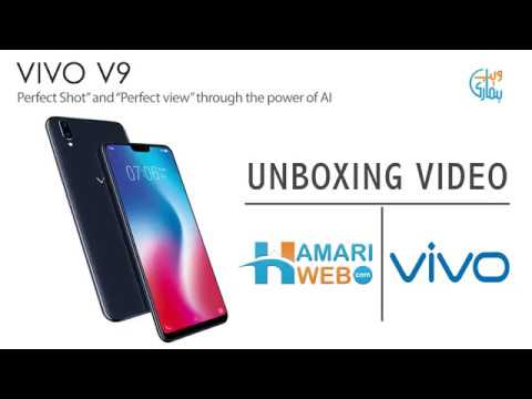 Vivo V9 Unboxing And First Look