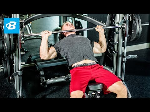 Steve Cook's 6-Exercise Chest-Building Workout - Bodybuilding.com - UC97k3hlbE-1rVN8y56zyEEA