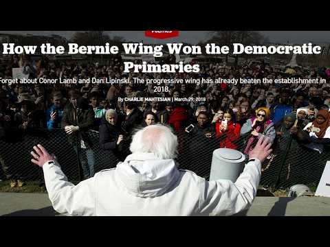 Bernie Sanders-Esque Candidates Already Defeating Establishment?