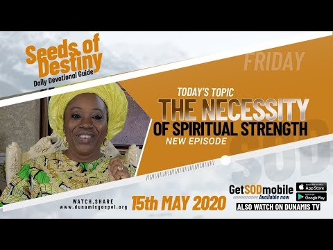 Dr Becky Paul-Enenche - SEEDS OF DESTINY  FRIDAY, 15 MAY, 2020