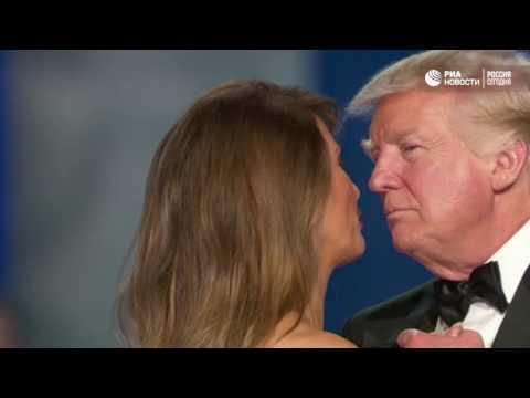 Первый танец нового президента США с супругой