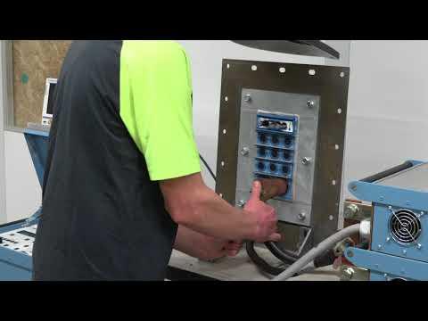 Testing at Roxtec - Short circuit grounding