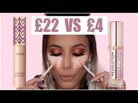 MAKEUP REVOLUTION VS SHAPE TAPE | BATTLE OF THE CONCEALERS - UC8tvDFM2GjAw4pG8iBEyY8A