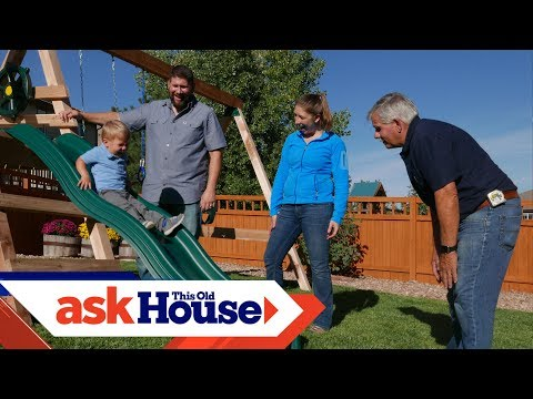How to Build a Swing Set | Ask This Old House - UCUtWNBWbFL9We-cdXkiAuJA