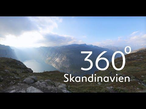 Wunderbares Skandinavien: Wildromantische Natur in 360 Grad