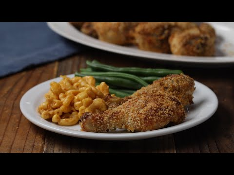 Easy Smoky Oven Fried Chicken ?Tasty