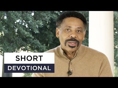 God Can Lift You Up - Tony Evans Devotional