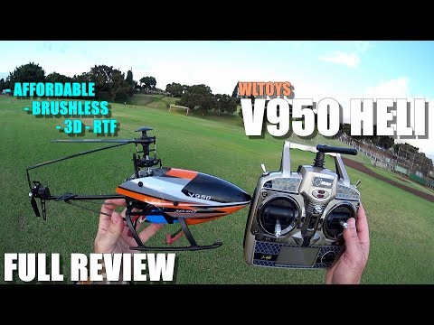 WLtoys V950 Brushless 3D RTF Helicopter - Full Review - [Unboxing, Flight/CRASH Test, Pros & Cons] - UCVQWy-DTLpRqnuA17WZkjRQ