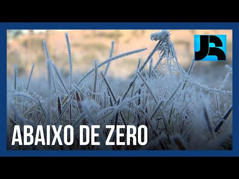Paisagens Geladas: Jornal da Record inicia expedição pelas regiões mais frias do Brasil