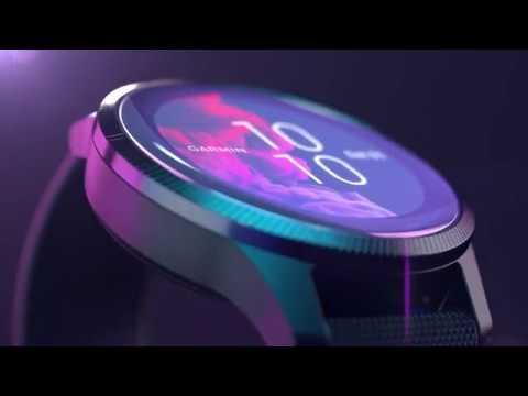 Garmin présente Venu : montre connectée GPS multisports avec écran AMOLED