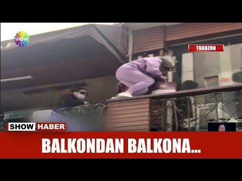 Balkondan balkona…