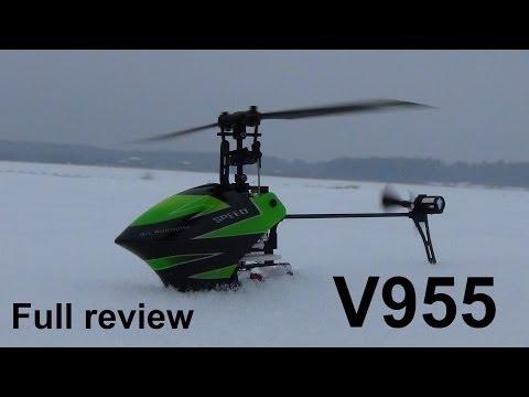 Полный обзор Wltoys V955 helicopter - UCvsV75oPdrYFH7fj-6Mk2wg