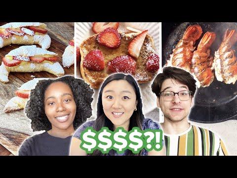 $2 vs. $10 vs. $100 Breakfast Budget Challenge ? Tasty