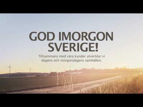 GOD IMORGON SVERIGE!