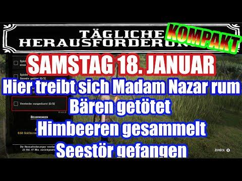 Samstag 18. Januar Täglichen Herausforderung Dailys Nazar Red Dead Redemption 2 Online Deutsch