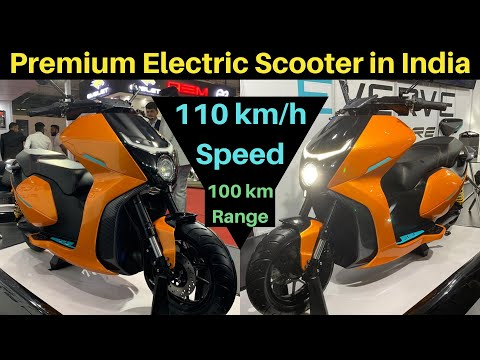 Premium Electric Scooter Launch in India 2020 - Everve EF1