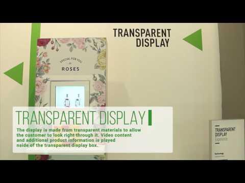 10   Transparent Display - Smart Boutique 2016