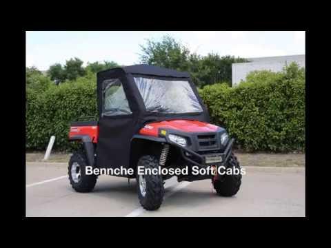 Enclosed Soft Cabs for Bennche/Massimo SXS