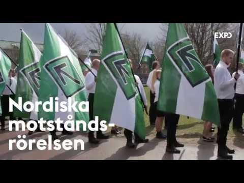 Så våldsamma är nazisterna i Nordiska motståndsrörelsen