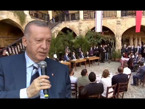 Cumhurbaşkanı Erdoğan KKTC ziyaretinde gençlerin sorularını yanıtladı