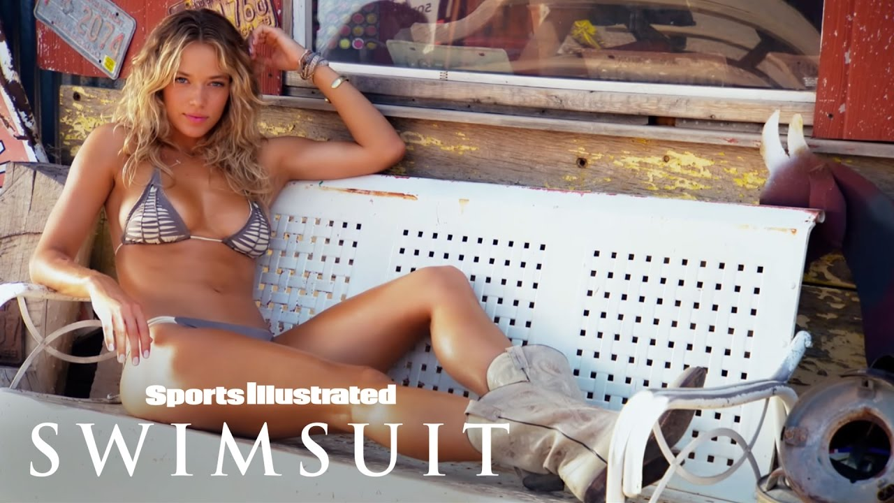 Hannah Ferguson Takes A Roadtrip Down Route 66   Uncovered   Sports Illustrated Swimsuit