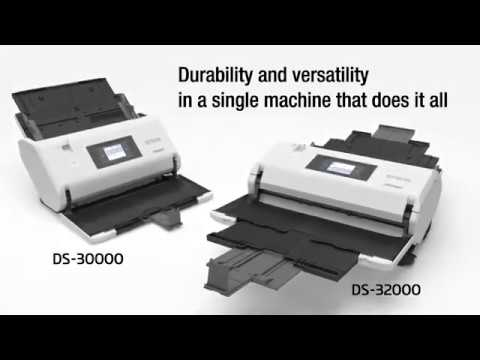 Epson WorkForce DS-30000 and DS-32000 A3 Business Scanners