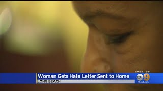 Long Beach Woman Shares Racist, Hate-Filled Letter She Received At Her Home