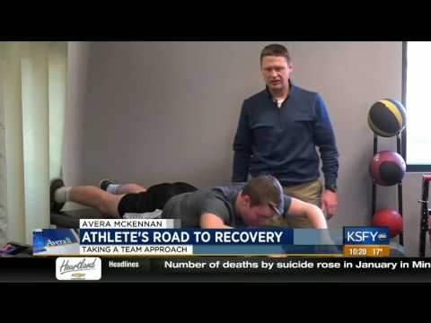 Taking a team approach to athlete's recovery - Medical Minute