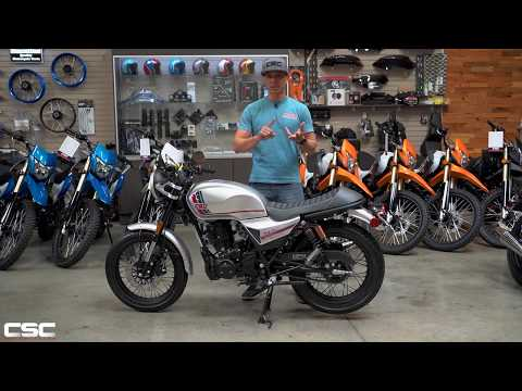 CSC Motorcycles SG250 San Gabriel Instructional Walk-around