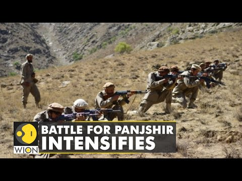 Heavy fighting in Panjshir valley- An hour from Kabul   Latest World English News   WION News